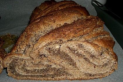 Nusszopf (Rezept von einem Bäckermeister) 4
