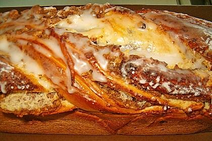 Nusszopf (Rezept von einem Bäckermeister) 2