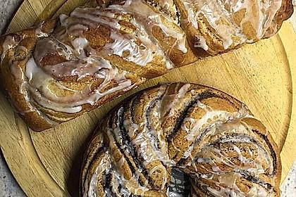 Nusszopf (Rezept von einem Bäckermeister) 6