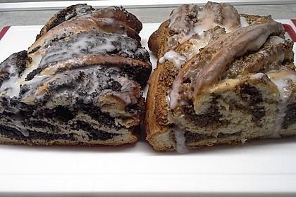 Nusszopf (Rezept von einem Bäckermeister) 18