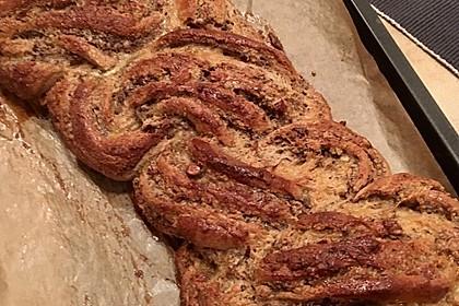 Nusszopf (Rezept von einem Bäckermeister) 35