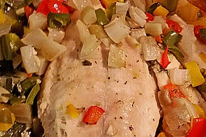 Biancas bunter Ofenfisch