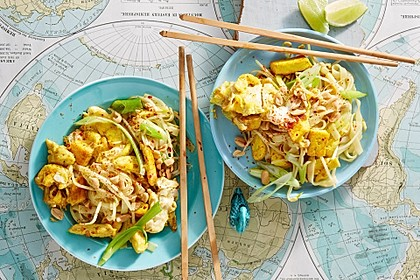 Thailändisches Pad Thai