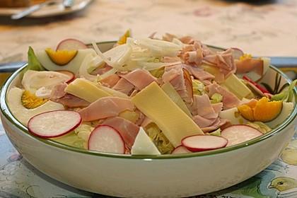 Eier - Käse - Salat 4