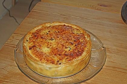 Porree - Cabanossi - Torte (Bild)