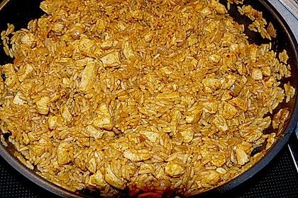 Gefüllte Paprika mit Reis und Hühnchen 3