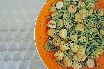 Libanesischer Kartoffelsalat würzig - pikant 1