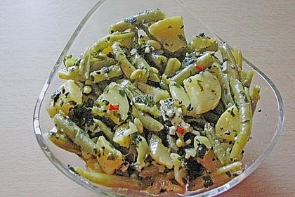 Libanesischer Kartoffelsalat würzig - pikant 18