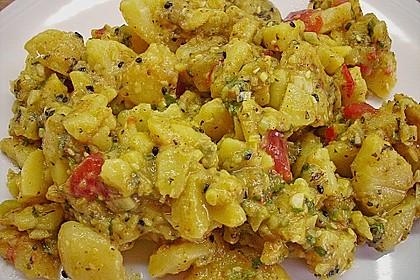 Libanesischer Kartoffelsalat würzig - pikant 17