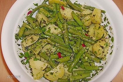 Libanesischer Kartoffelsalat würzig - pikant 11
