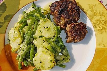 Libanesischer Kartoffelsalat würzig - pikant 16