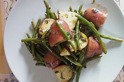 Libanesischer Kartoffelsalat würzig - pikant 19