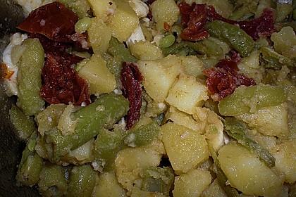 Libanesischer Kartoffelsalat würzig - pikant 20