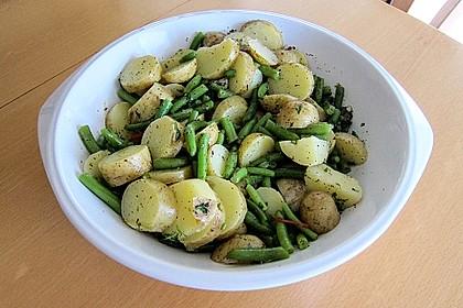 Libanesischer Kartoffelsalat würzig - pikant 7
