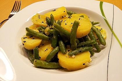 Libanesischer Kartoffelsalat würzig - pikant 6