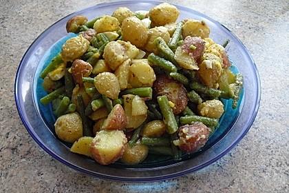 Libanesischer Kartoffelsalat würzig - pikant 8