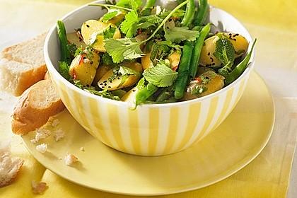 Libanesischer Kartoffelsalat würzig - pikant 3