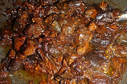 Auberginen Stir Fry (Bild)