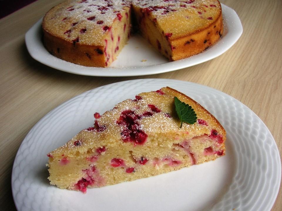 Joghurt Beeren Kuchen Ein Leckeres Rezept Chefkoch De