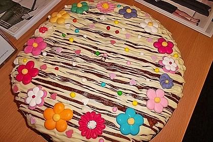 Heller saure Sahne - Kuchen 1