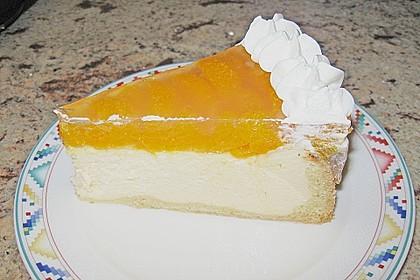 Quarkkuchen mit Mandarin-Orangen 6