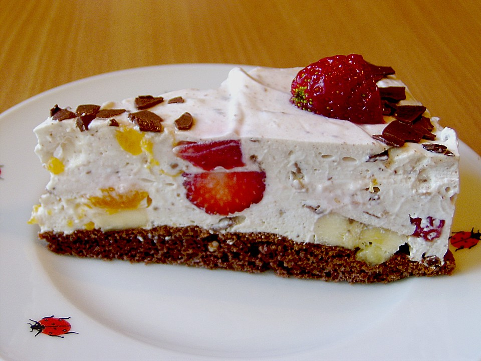 Fruchtige Joghurt Kusschen Torte Von Manugro Chefkoch De