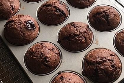 Saftige Schoko - Bananen - Muffins 26