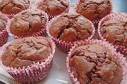 Saftige Schoko - Bananen - Muffins 9
