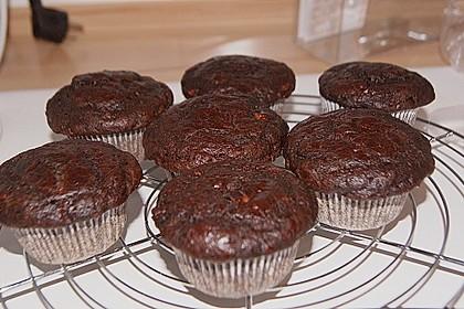 Saftige Schoko - Bananen - Muffins 31