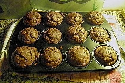Saftige Schoko - Bananen - Muffins 57