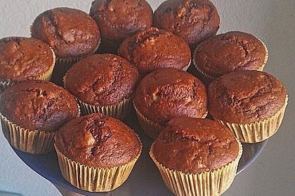 Saftige Schoko - Bananen - Muffins 30