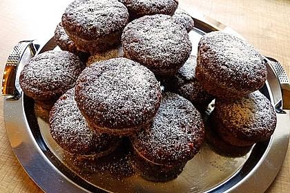 Saftige Schoko - Bananen - Muffins 28