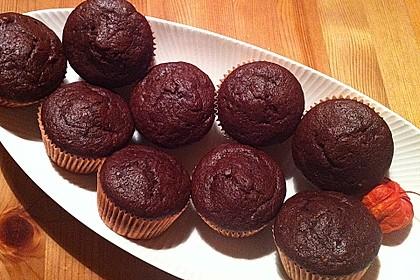 Saftige Schoko - Bananen - Muffins 25