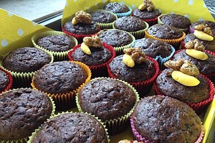Saftige Schoko - Bananen - Muffins 32