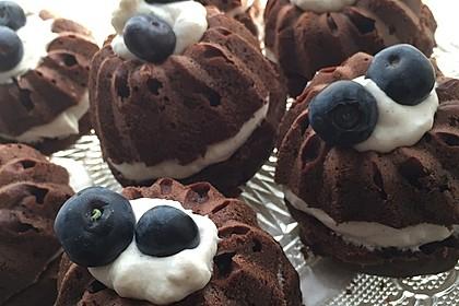 Saftige Schoko - Bananen - Muffins 6
