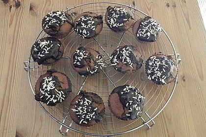 Saftige Schoko - Bananen - Muffins 23