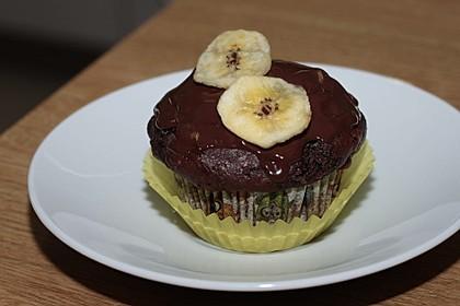Saftige Schoko - Bananen - Muffins 22