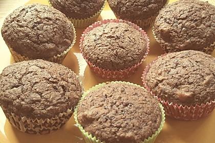 Saftige Schoko - Bananen - Muffins 55