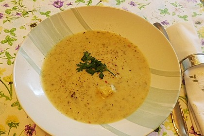 Frühlings-Kressesuppe (Bild)