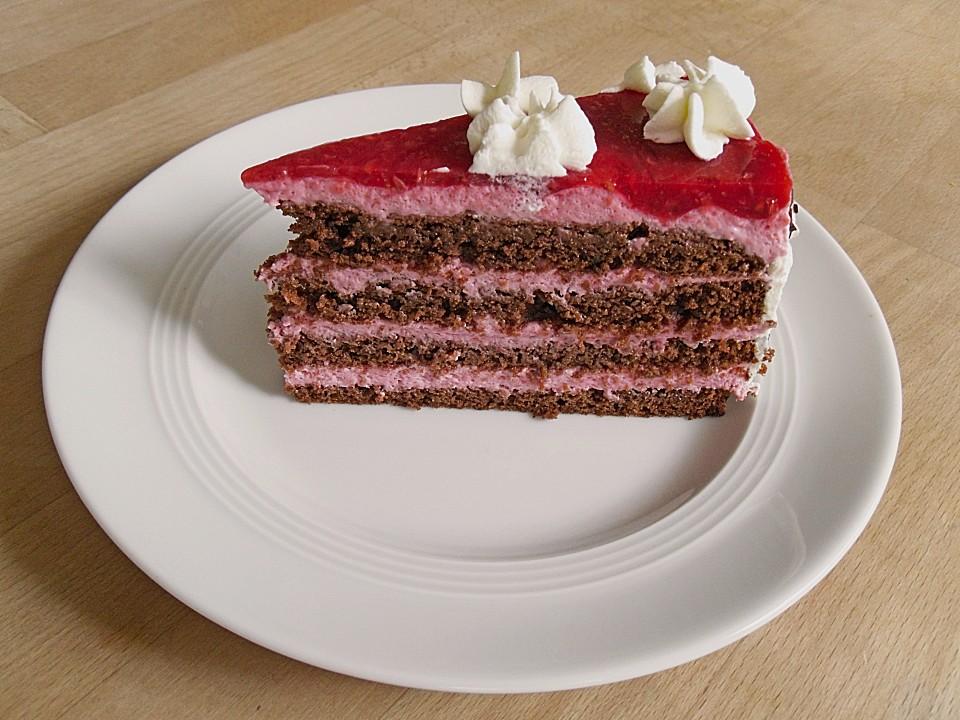 Himbeer Schoko Torte Von Mima53 Chefkoch De
