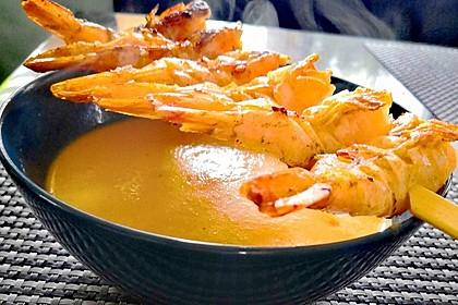 Möhren - Ingwer - Suppe (Bild)