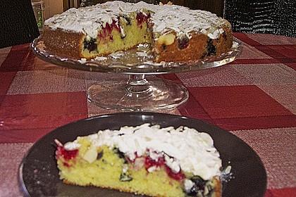 Saisonkuchen mit Kirschen 4