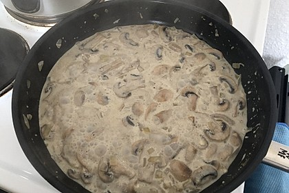 Champignon - Rahm - Sauce 9