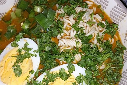 Pikante Thai Suppe mit Kokos und Hühnchen 41
