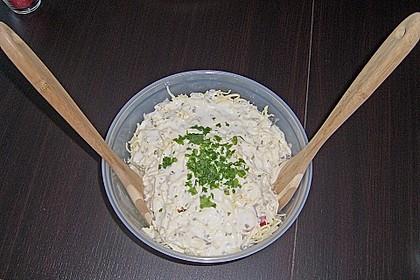 Maracaibo Salat mit Pizzabrötchen 1