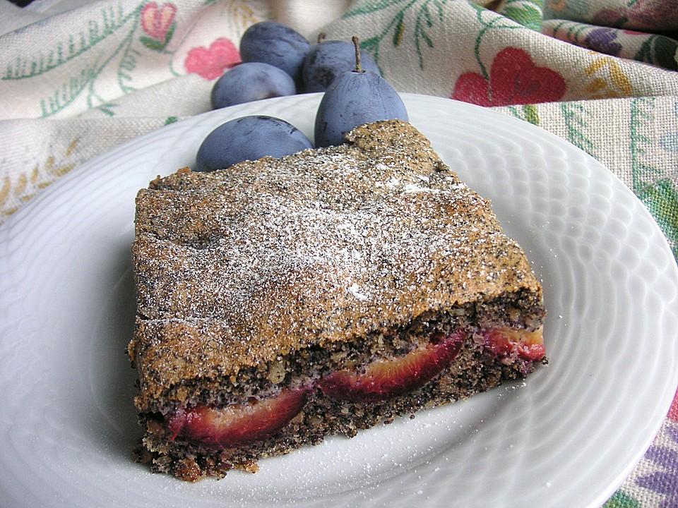 Zwetschgen Mohn Kuchen Von Ramona11 Chefkoch De