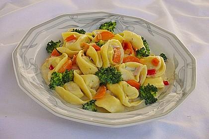 Tortelloni in Käsesahnesoße 5