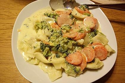 Tortelloni in Käsesahnesoße 41
