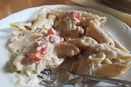 Tortelloni in Käsesahnesoße 57