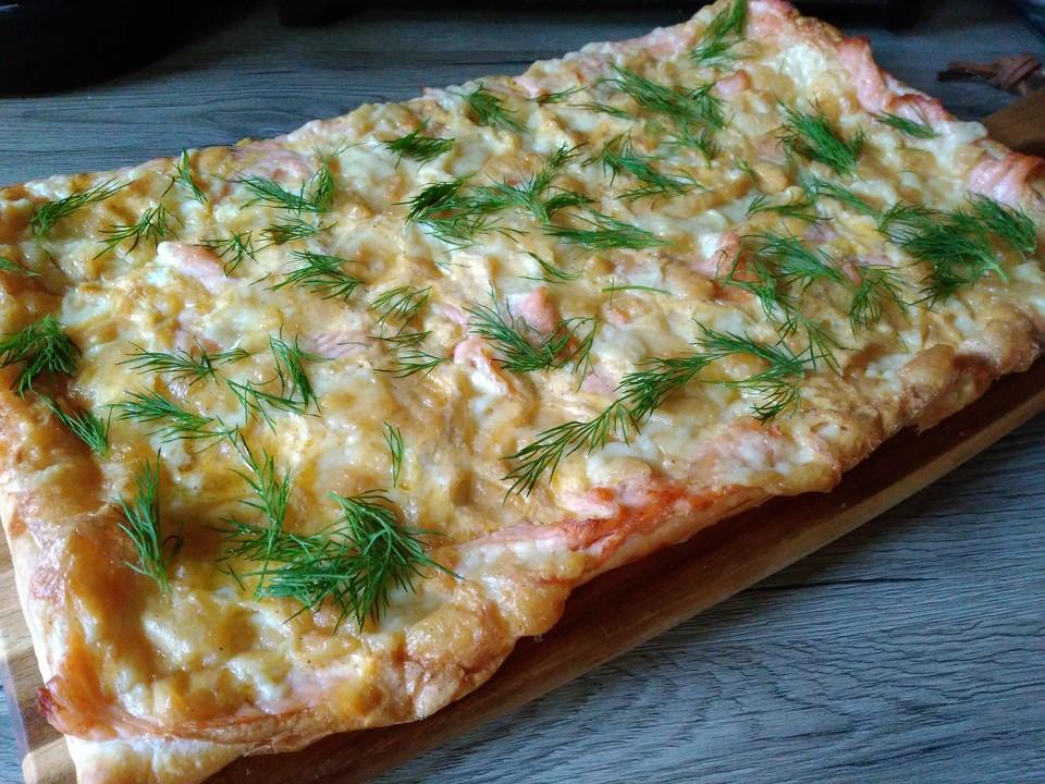 Schwedischer Lachskuchen Schwedenpizza Von Viniferia Chefkoch De